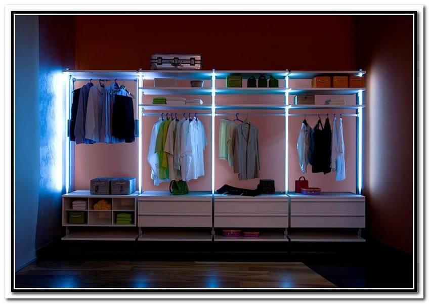 Beleuchtung Begehbarer Kleiderschrank