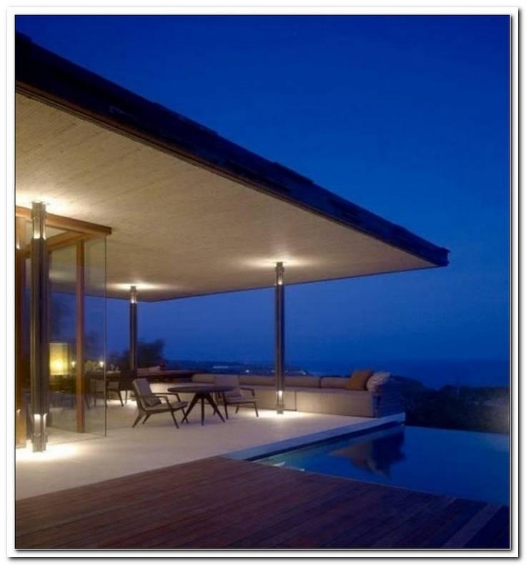 Beleuchtung ?Berdachte Terrasse