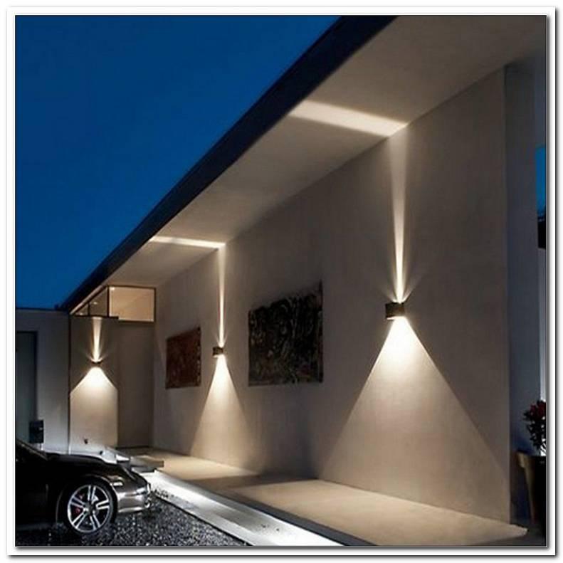Beleuchtung Eingangsbereich Au?En