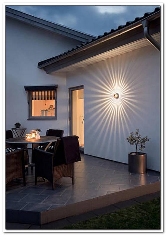 Beleuchtung Terrasse