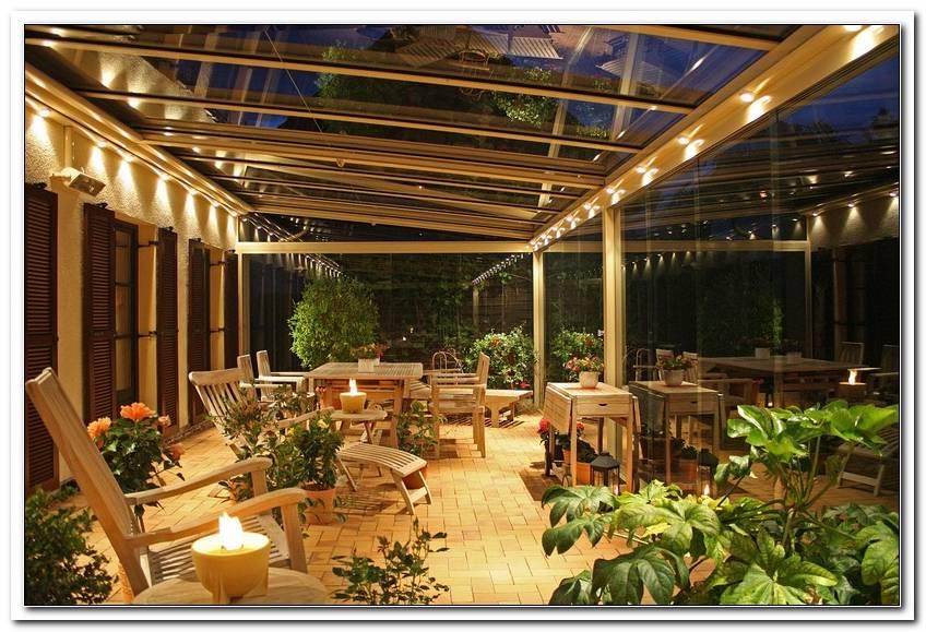Beleuchtung Terrassendach