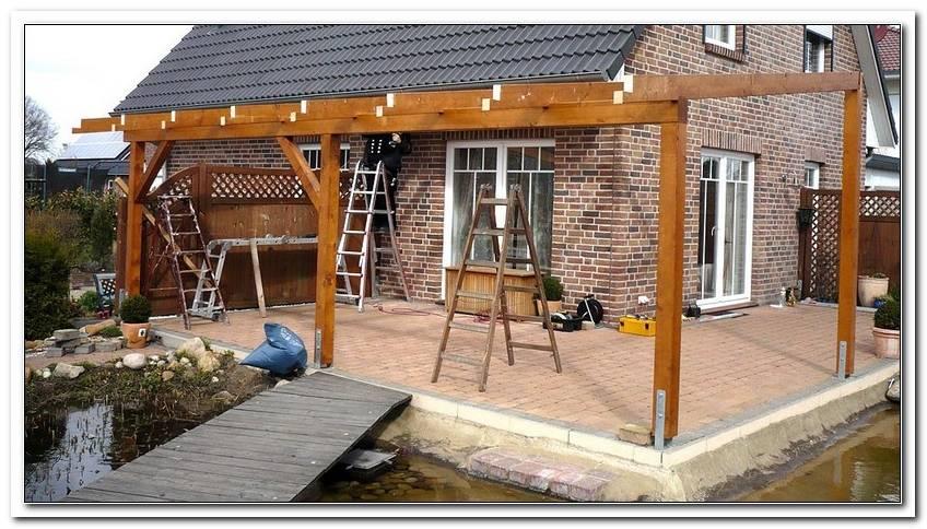 ?Berdachte Terrasse Holz Selber Bauen