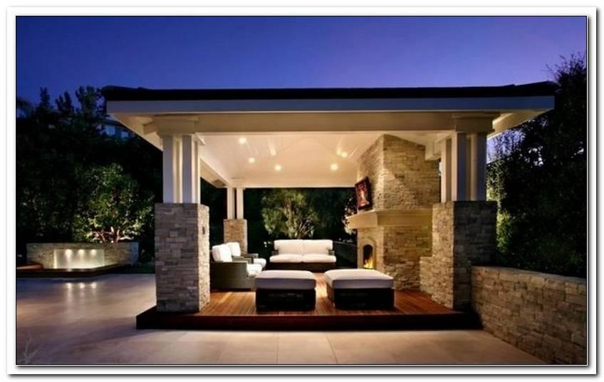 ?Berdachte Terrassengestaltung