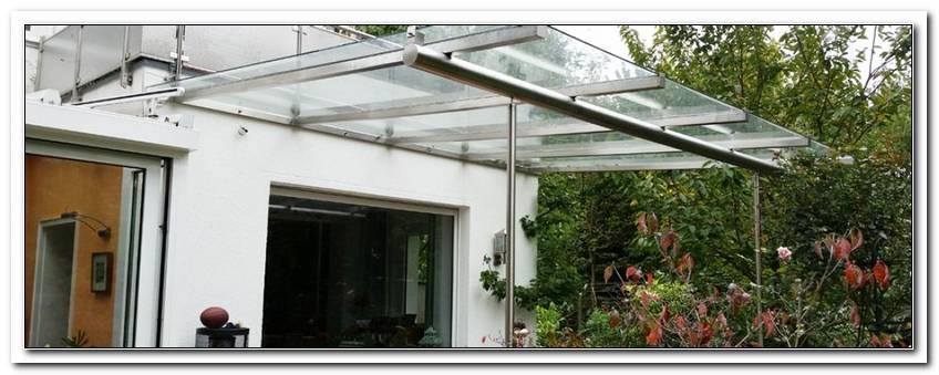 ?Berdachung Terrasse Glas Edelstahl