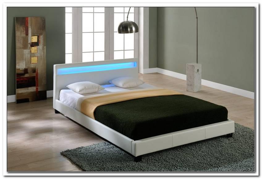 Bett 140x200 Wei? Mit Led Beleuchtung