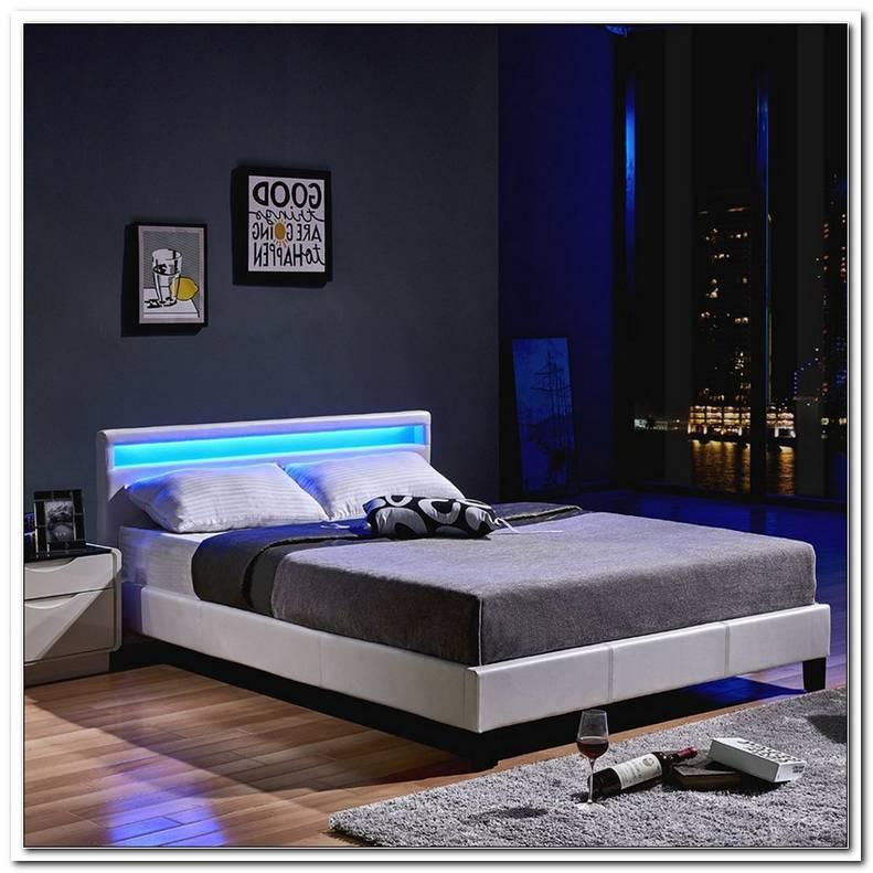 Bett Mit Led Beleuchtung 160x200
