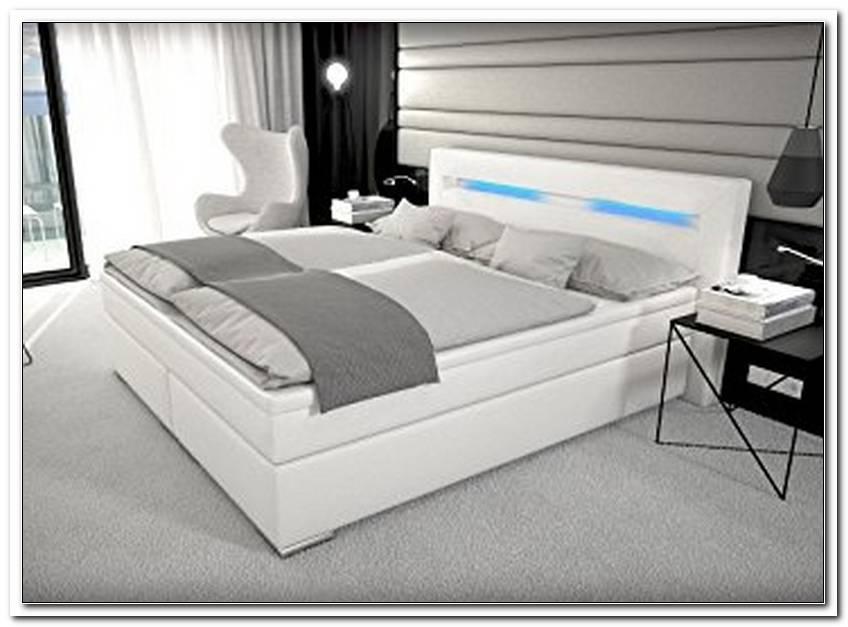 Bett Mit Led Beleuchtung 180x200