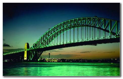 Big Green Bridge HD Wallpaper