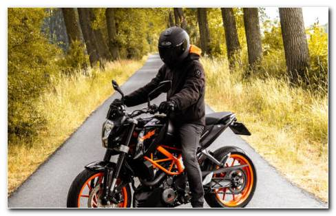 Biker Helmets HD Wallpaper