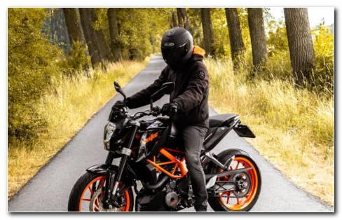 Biker Helmets HD Wallpaper