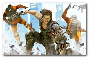 Bionic Commando Game Wallpaper