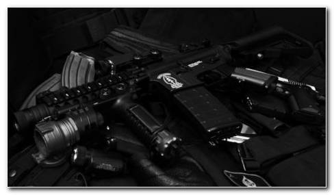 Black Airsoft HD Wallpaper