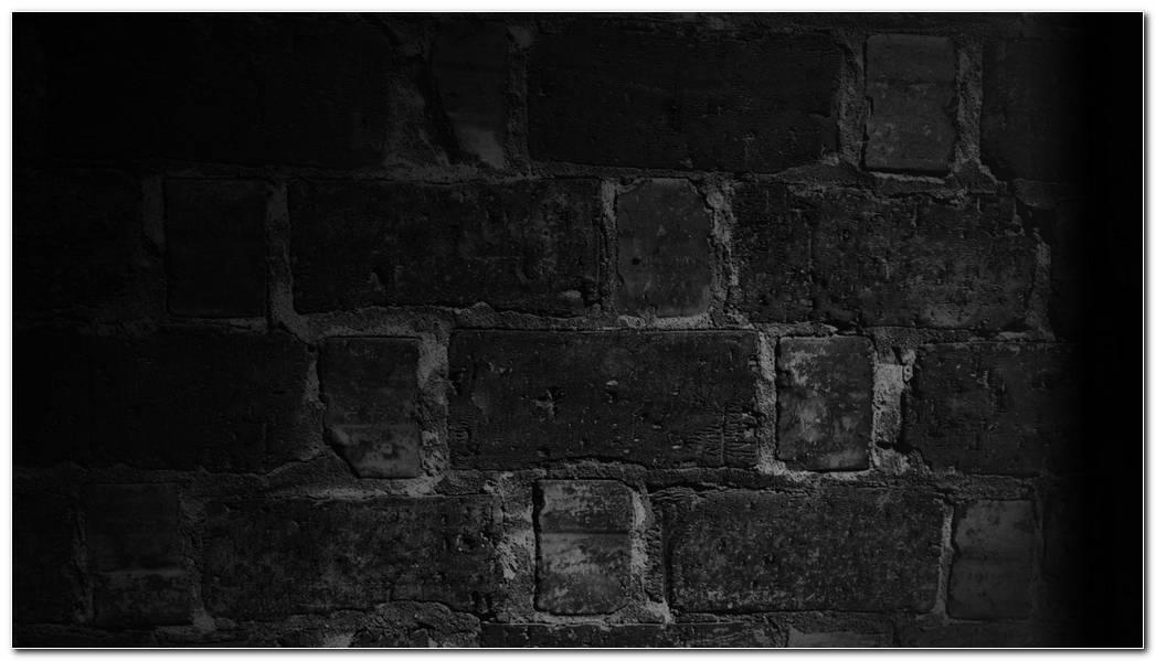 Black Background Wallpaper Images Wall Bricks