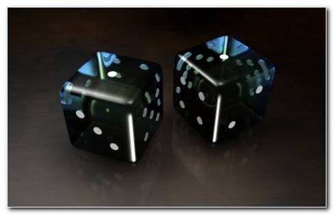 Black Dice HD Wallpaper