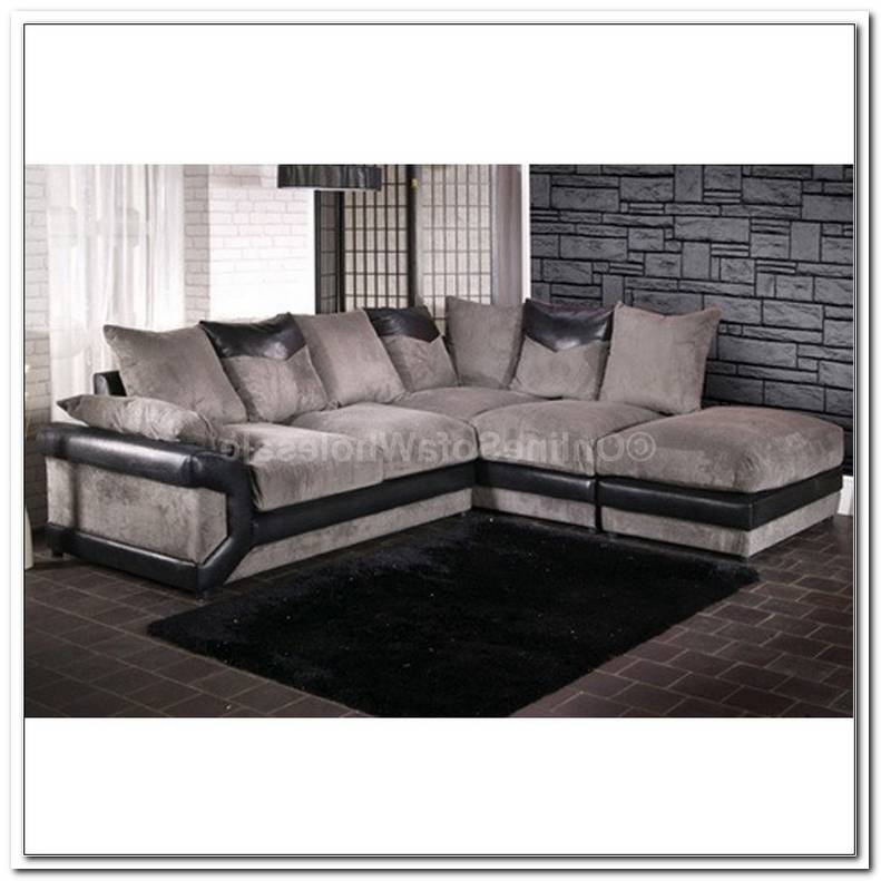 Black N Grey Sofas