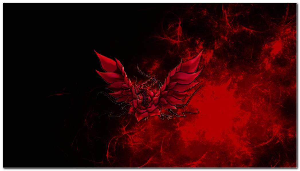 Black Red Dragon Background Wallpaper