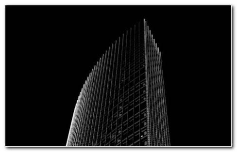 Black Architecture HD Wallpaper