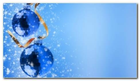 Blue Christmas Tree HD wallpaper