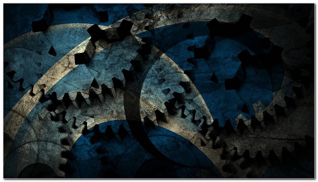 Blue Design Grunge Wallpaper Background