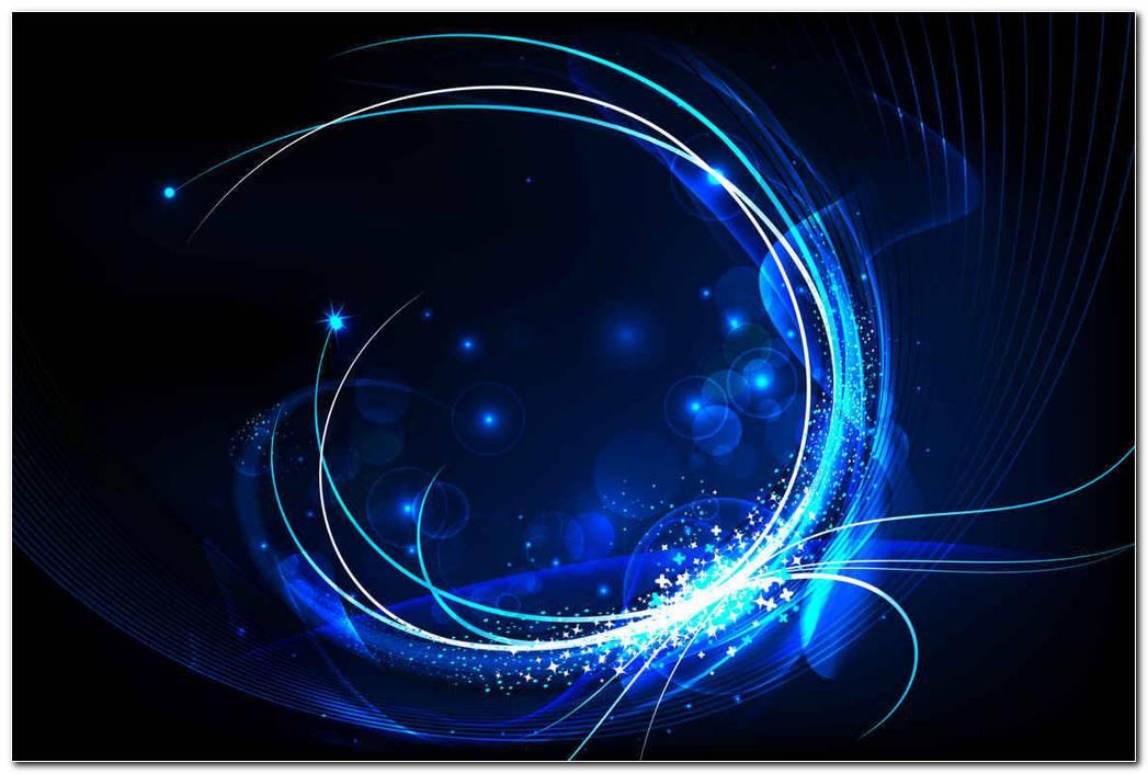 Blue Glow Swirl Background Wallpaper