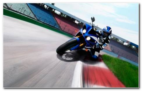 Blue Heavy Bike HD Wallpaper