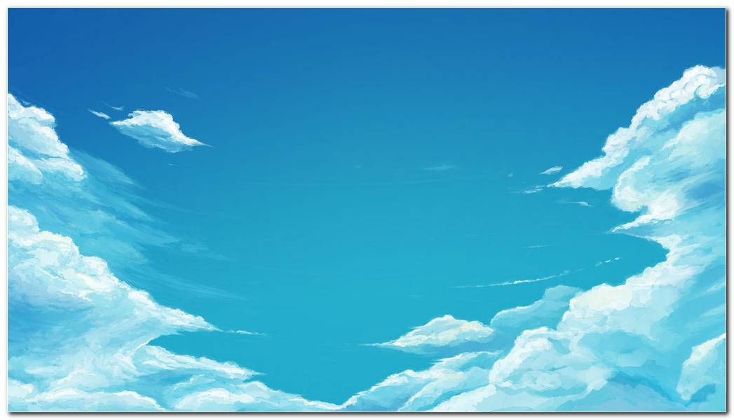 Blue Sky Wallpaper Background