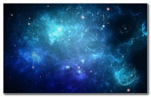 Blue Space Background HD Wallpaper