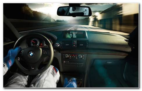 Bmw Series M Coupe Interior HD Wallpaper