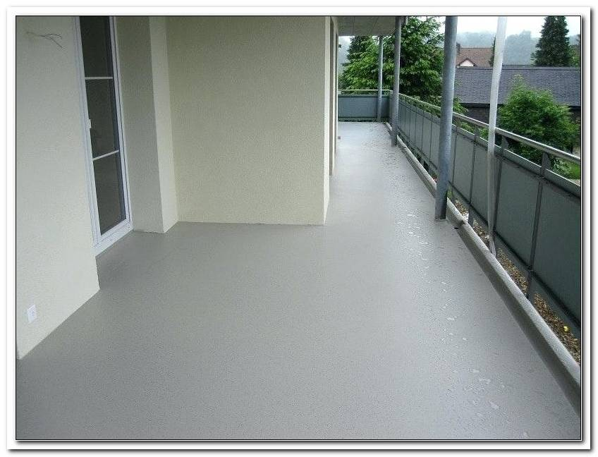 Bodenbelag Terrasse Kunstharz
