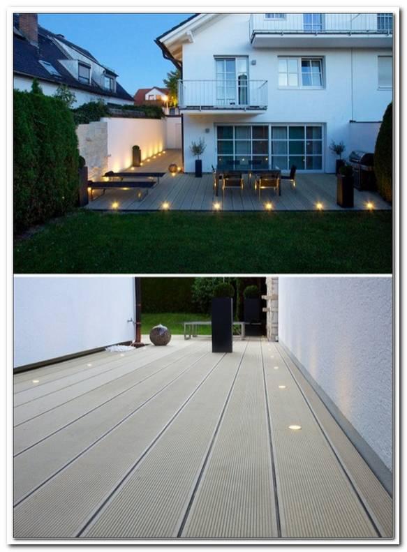 Bodenstrahler Terrasse