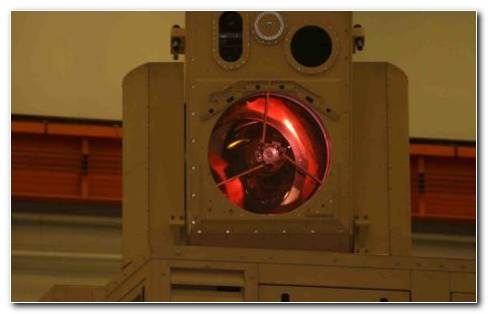 Boeing Laser Weapon Close Up