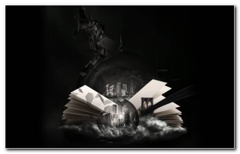 Book Art HD Wallpaper