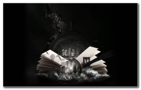 Book Art HD wallpaper