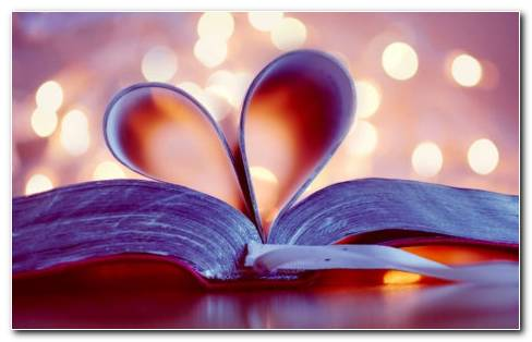 Book Of Heart HD Wallpaper