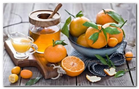 Bowl Of Oranges HD Wallpaper