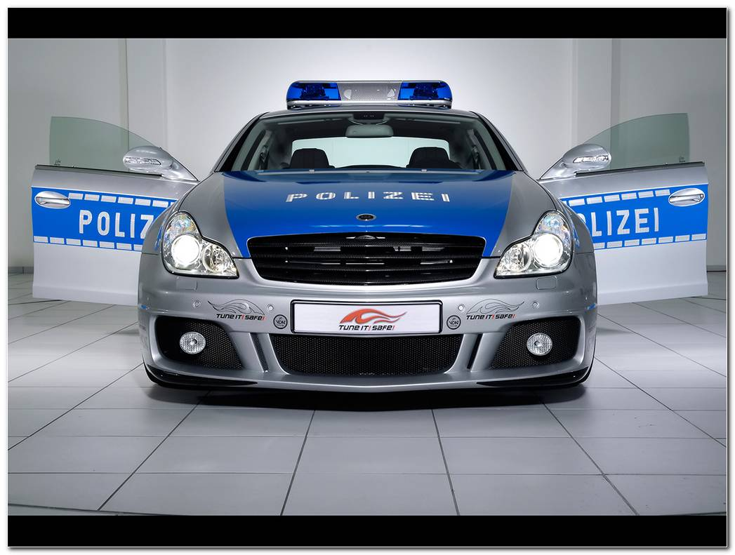 Brabus Rocket Police Car Wallpapers Widescreen Desktop Backgrounds 1024x768
