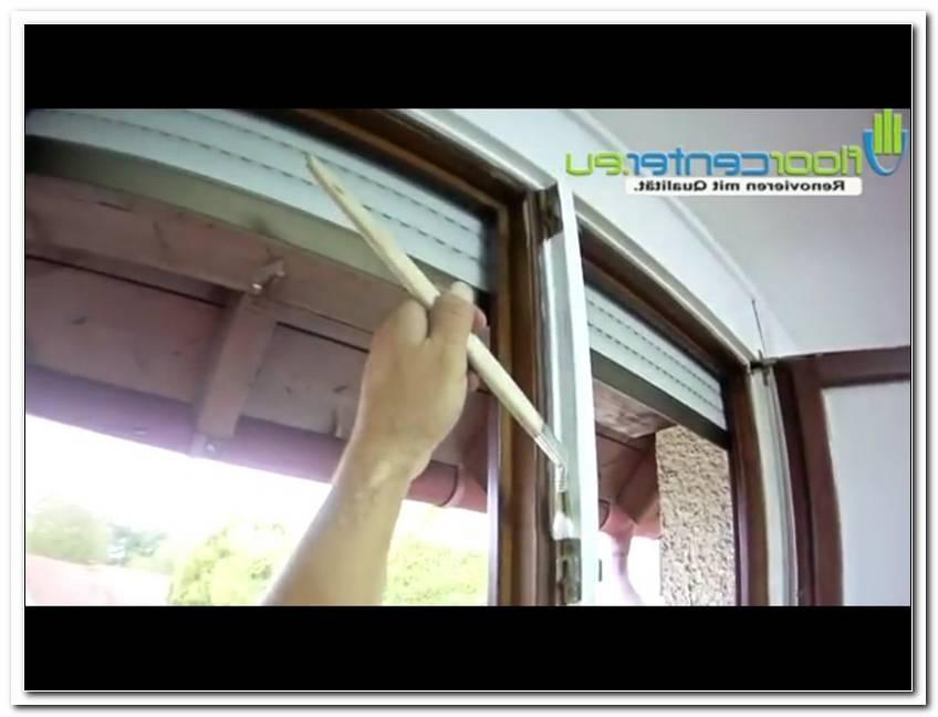 Braune Fenster Wei? Streichen
