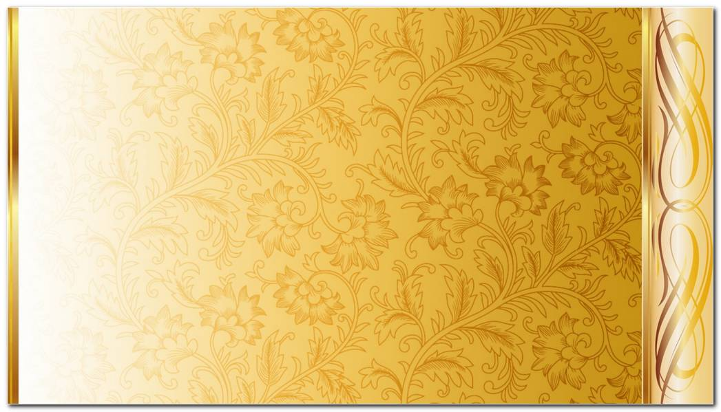 Bright Gold Background Wallpaper