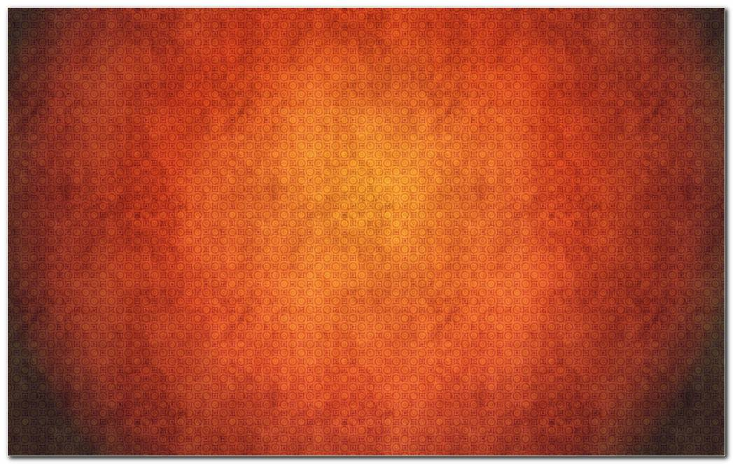 Bright Orange Pattern Background Wallpapers