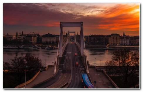 Budapest Bridge HD Wallpaper