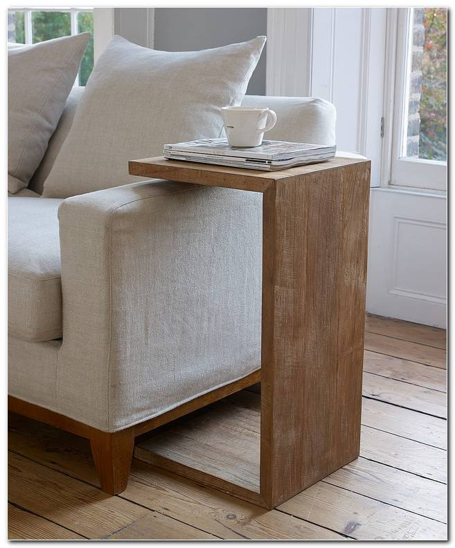 C Sofa Side Table