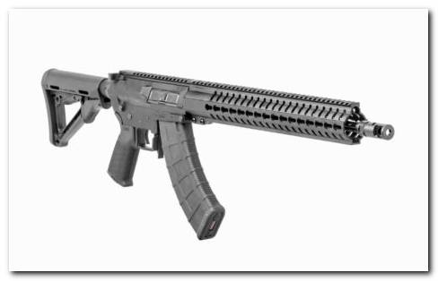 CMMG Rifle On White Background