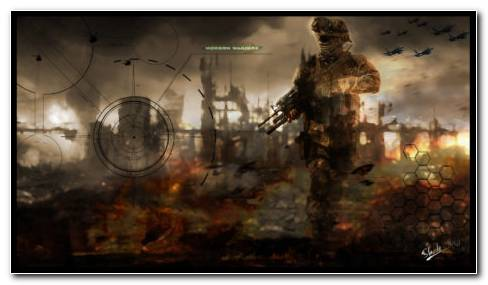 COD Modern Warfare Soldier 2 HD Wallpaper
