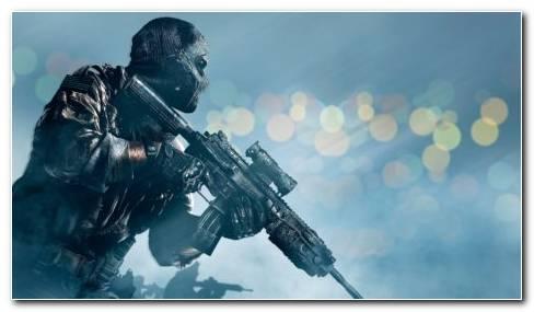 COD Soldier Stance HD Wallpaper