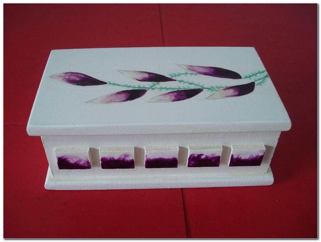Cajas Decoradas De Madera