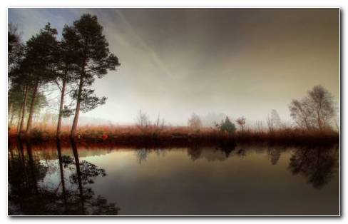 Calm Lake HD Wallpaper