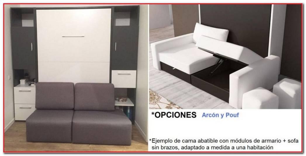 Cama Abatible Con Sofa Barcelona