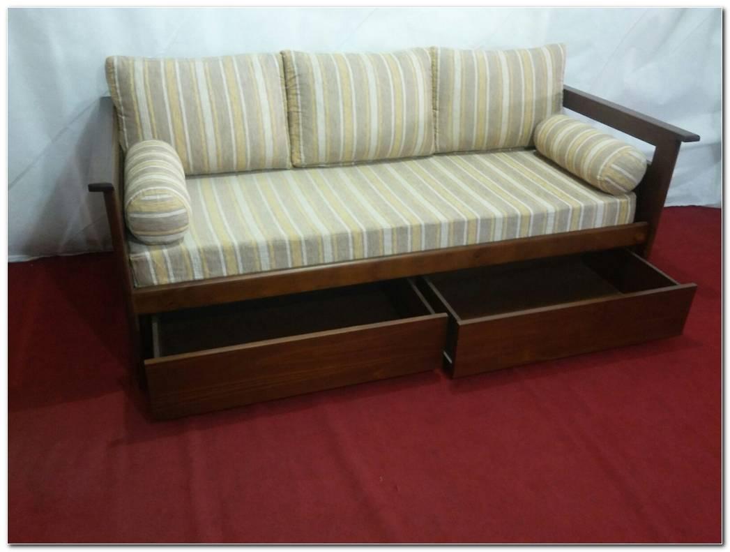 Cama Sofa Con Cajones