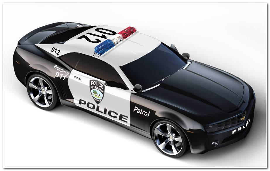 Camaro Police Car Wallpapers 900x563
