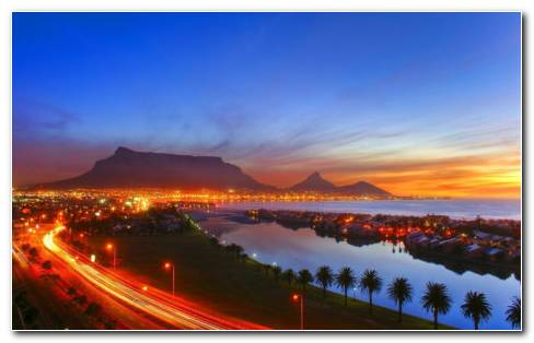 Cape Town Harbor HD Wallpaper